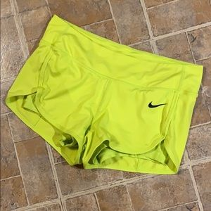 Nike Dri Fit layered shorts size women's small